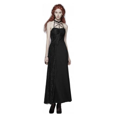 Damen Kleid PUNK RAVE - Antagonism - OQ-395 BK