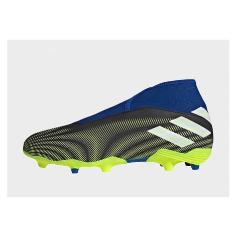 Adidas Nemeziz.3 FG Laceless Fußballschuh - Core Black / Cloud White / Solar Yellow - Herren, Co
