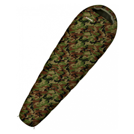 Schlafsack Husky Outdoor Junior Army -10°C Khaki