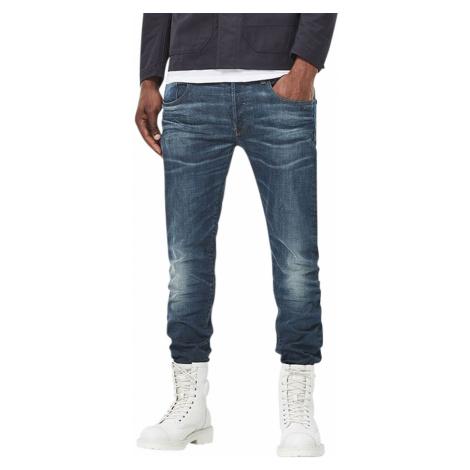 G-Star Herren Jeans 3301 - Slim Fit - Blau - Medium Aged G-Star Raw