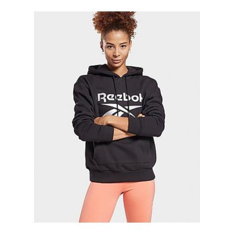 Reebok reebok identity logo fleece hoodie - Black - Damen, Black