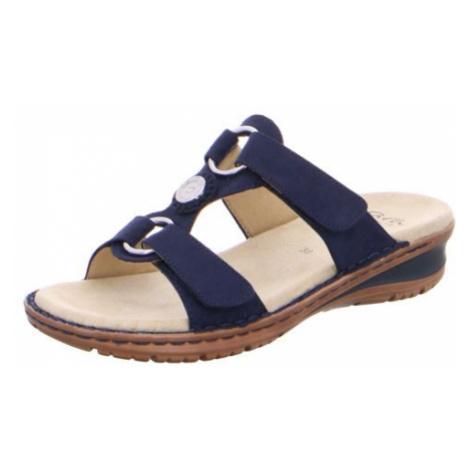 Damen Ara Klassische Sandalen blau