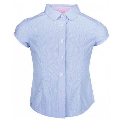 Lewro LUANA blau - Mädchenhemd