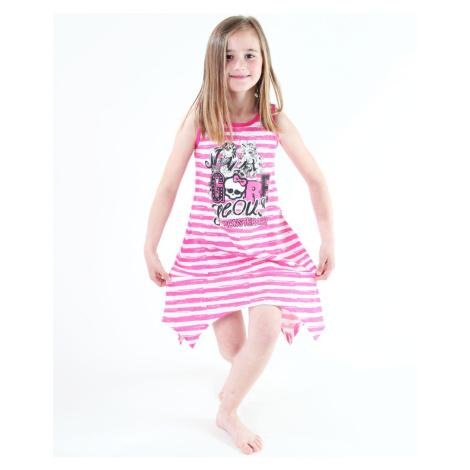Kleid für Mädchen TV MANIA - Monster High - White/Pink - MOH 550