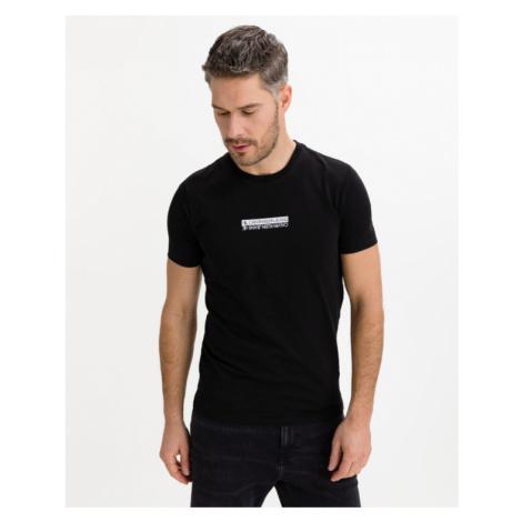 Calvin Klein Mirror Logo T-Shirt Schwarz