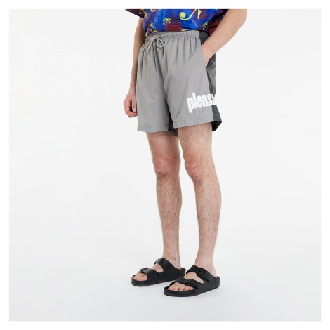 PLEASURES Electric Active Shorts Charcoal
