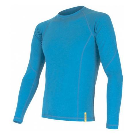 Herren T-Shirt Sensor MERINO DOUBLE FACE blue 15100022