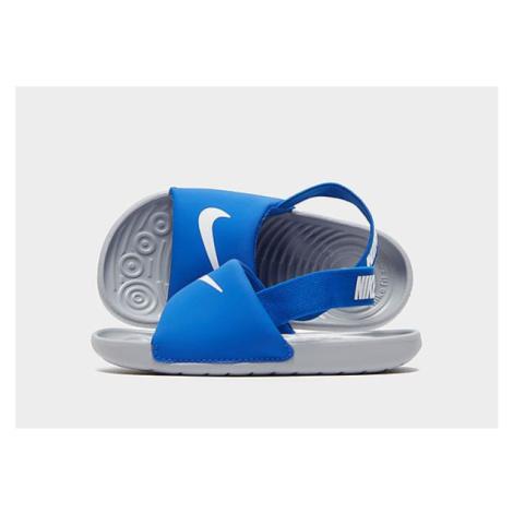 Nike Kawa Slides Baby - Blue - Kinder, Blue