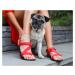 Barefoot Sandalen Be Lenka Flexi - Red 43