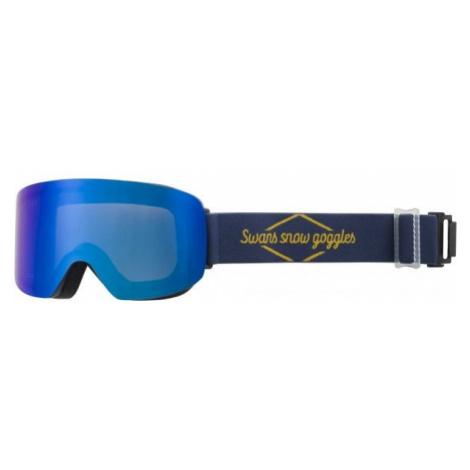 Blaue ausrüstung für snowboarding