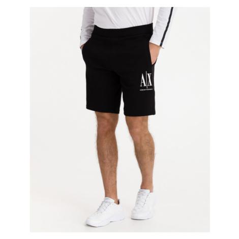 Armani Exchange Shorts Schwarz