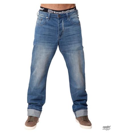 Herren Hose -Jeans- HORSEFEATHERS - Ground Light Blue 30