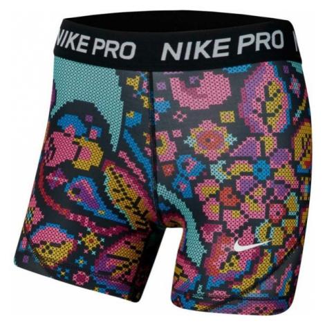 Nike NP BOY SHORT PRINT FEMME schwarz - Mädchenshorts