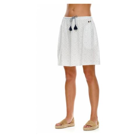 Ragwear Damen Rock MIRANDA 2111-45003 White 7000 Weiß