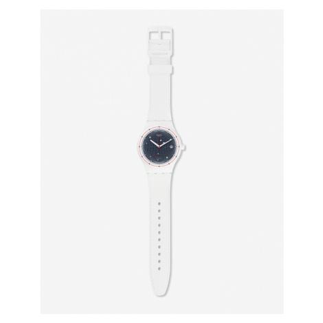 Swatch Sistem Planet Armbanduhr Weiß