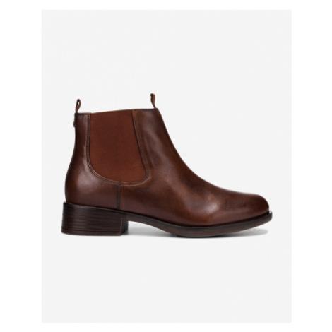 Braune chelsea boots für damen