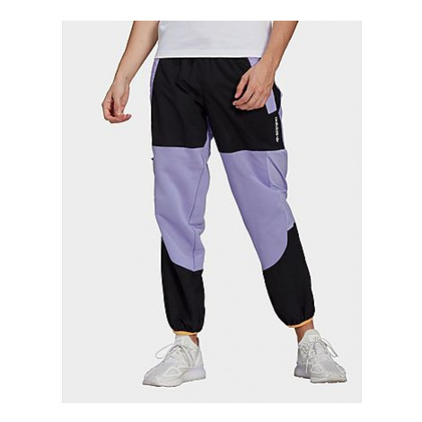 Adidas Originals Adventure Colorblock Mixed Material Jogginghose - Light Purple / Black - Herren