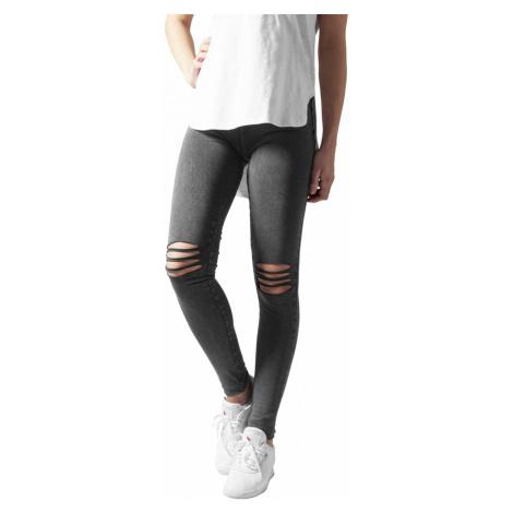 Urban Classics Damen Leggings Cutted Knee