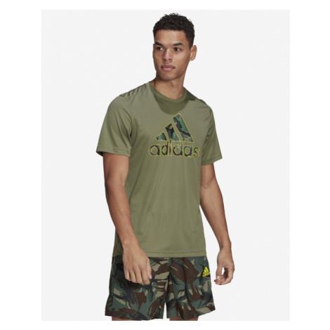 adidas Performance Designed 2 Move Camouflage T-Shirt Grün