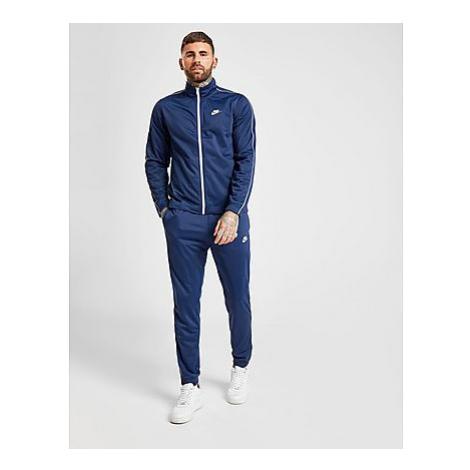 Nike Poly Trainingsanzug - Blue/White - Herren, Blue/White