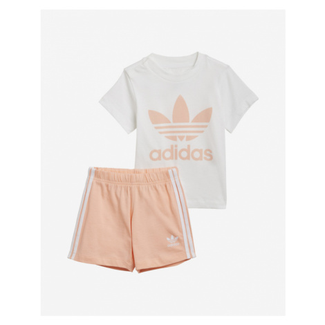 adidas Originals Trefoil Kids Set Weiß Beige