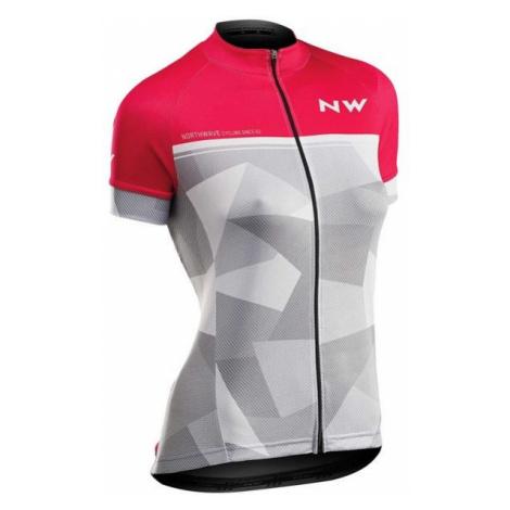 Northwave ORIGIN W rosa - Radtrikot für Damen North Wave