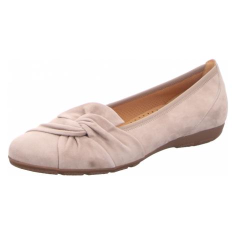 Damen Gabor Ballerinas beige