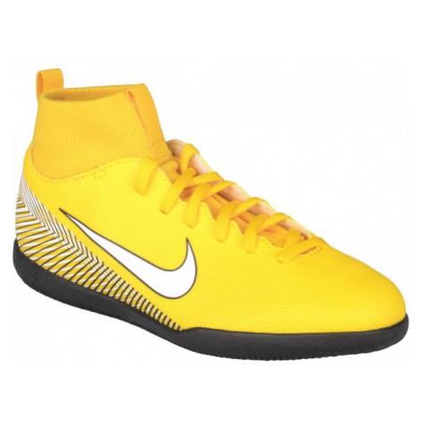 Nike SUPERFLY 6 CLUB NJR IC gelb - Kinder Hallenschuhe