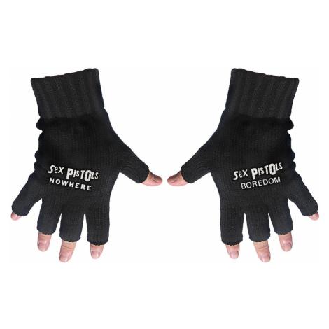 Fingerlose Handschuhe Sex Pistols - Nirgends / Langeweile - RAZAMATAZ - FG059