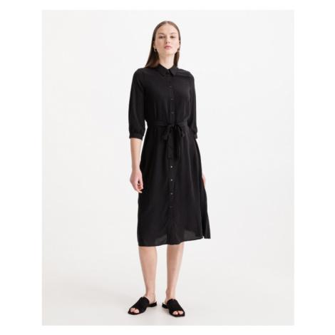 Vero Moda Cara Kleid Schwarz