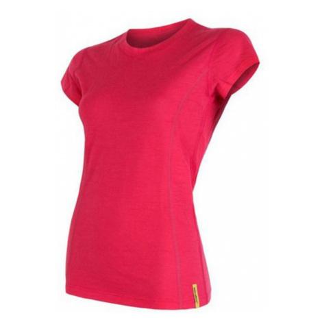 Damen T-Shirt Sensor MERINO WOOL ACTIVE magenta 16200113