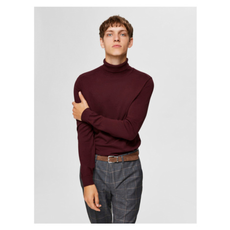 Selected Homme Berg Pullover Rot