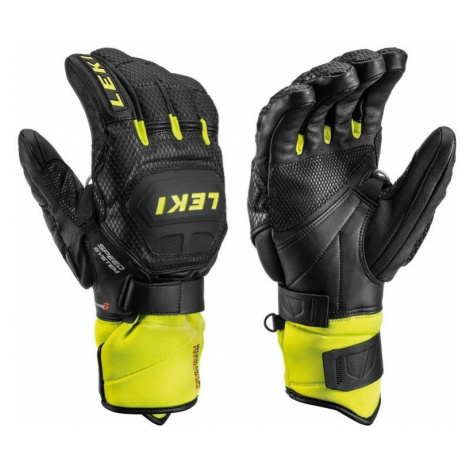 Handschuhe LEKI Worldcup Race Flex S Speed System 649802301 black / eis / zitrone