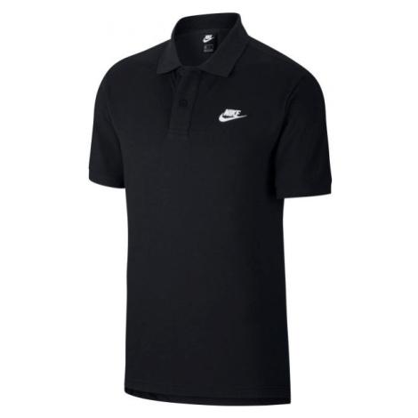 Nike NSW CE POLO MATCHUP PQ schwarz - Herren Poloshirt