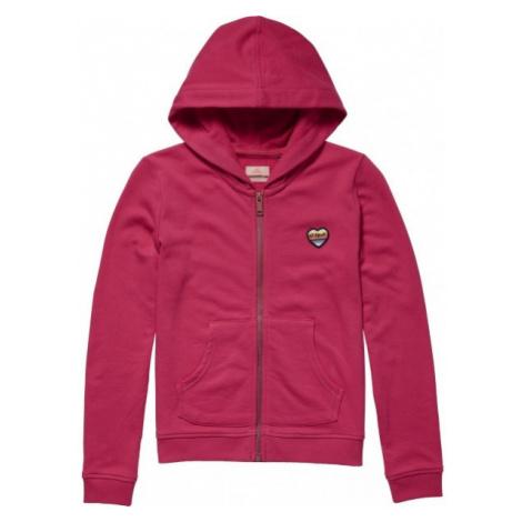 O'Neill LG FULL ZIP HOODIE rosa - Mädchen Sweatshirt