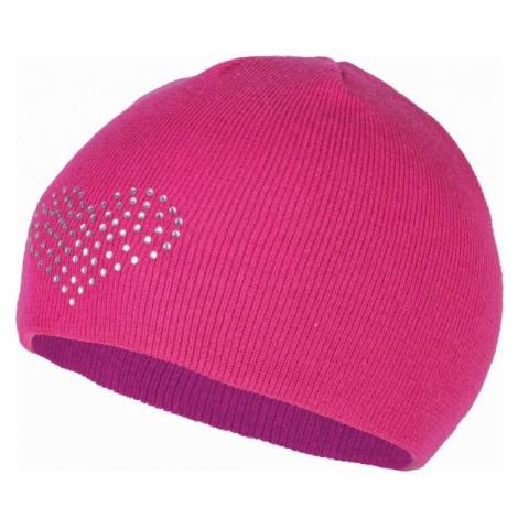 Lewro BEEDRIL rosa - Mädchen Strickmütze