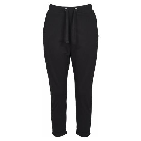 Urban Classics Damen Sweatpants Open Edge Terry Turn Up
