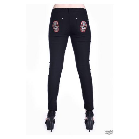 Damen Hose BANNED - Sugar Skull - Black - TBN423