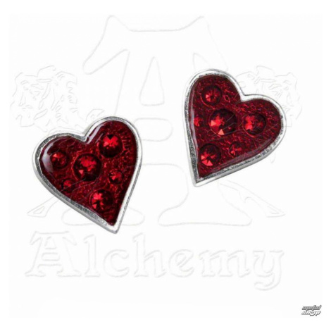 Ohrringee ALCHEMY GOTHIC - Heart's Blood - E332