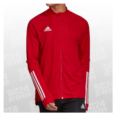 Adidas Condivo 20 Training Jacket rot/weiss Größe S