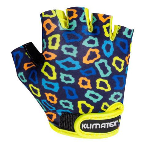 Klimatex KOTTE dunkelblau - Radlerhandschuhe für Kinder