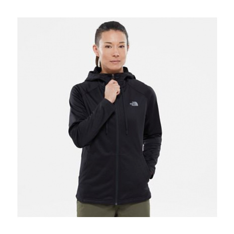 The North Face Tech Mezzaluna Fleecejacke Mit Kapuze Für Damen Tnf Black