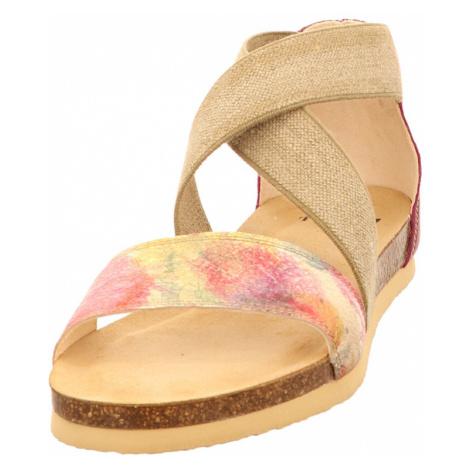 Damen Think Komfort Sandalen lila/pink