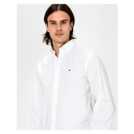 Tommy Hilfiger Flex Refined Oxford Hemd Weiß