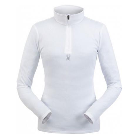 Spyder TEMPTING ZIP T-NECK weiß - Damen-Sweatshirt