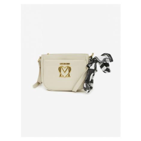 Love Moschino Umhängetasche Weiß