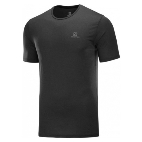 Salomon AGILE TRAINING TEE M schwarz - Herrenshirt