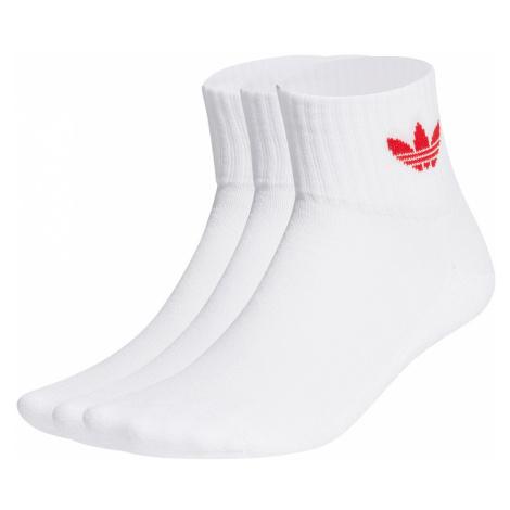 Adidas Originals Socken Dreierpack MID ANKLE SCK FT8529 Weiß