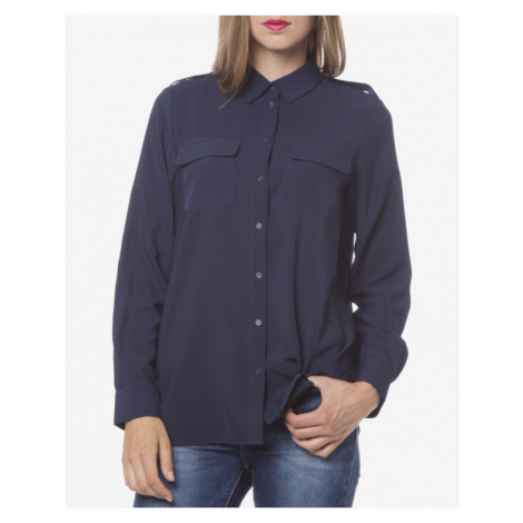 French Connection Bluse Blau