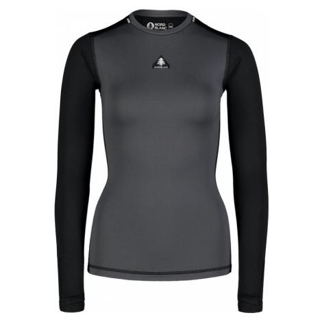 Damen Thermo T-Shirt Nordblanc PLY grey NBBLD7097_GRA